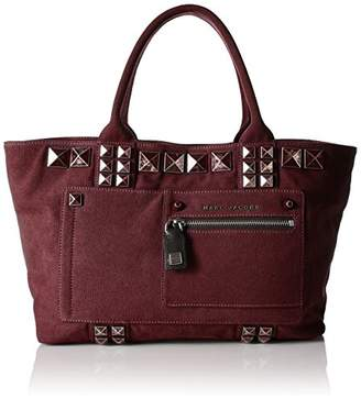 Marc Jacobs Canvas Chipped Studs Tote