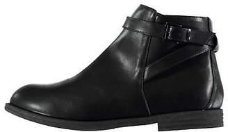 Miso Kids Girls Bucks Boots Juniors Flat Ankle