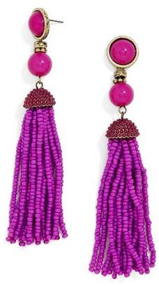 Women's Baublebar 'Artemis' Beaded Tassel Drop Earrings $34 thestylecure.com