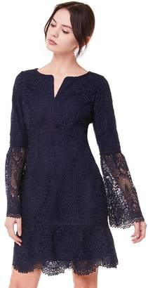 Juicy Couture Tulsa Guipure Lace Bell Sleeve Dress