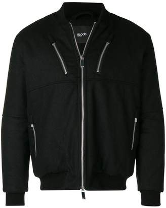 Blood Brother zipped detailing jacket