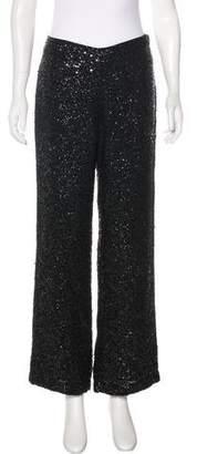 Ellen Tracy Silk Wide-Leg Pants