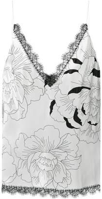 Carine Gilson floral print camisole