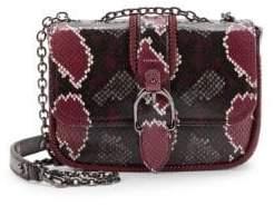 Odyn Mini Patterned Leather Crossbody Bag