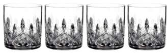 'Lismore' Lead Crystal Straight Sided Tumblers