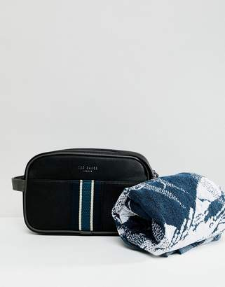 Ted Baker Smitset Wash Bag with towel