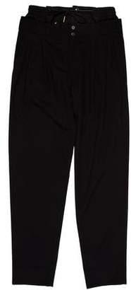 Saint Laurent Wool Layered Pants w/ Tags
