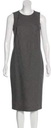 Ralph Lauren Black Label Midi Bias-Cut Dress