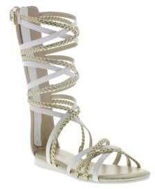 Michael Kors Kayla Faux-Leather Gladiator Sandals