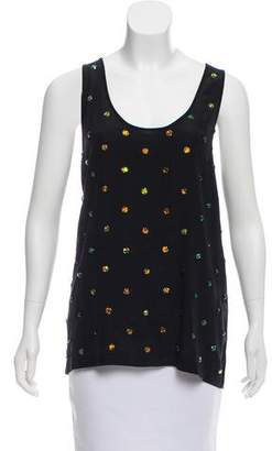 Stella McCartney Embellished Sleeveless Top