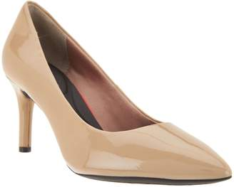 Rockport Total Motion Leather Pointed Toe Pumps