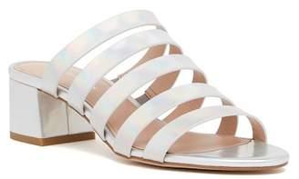 BCBGeneration Frankie Smooth Metallic Heeled Sandal