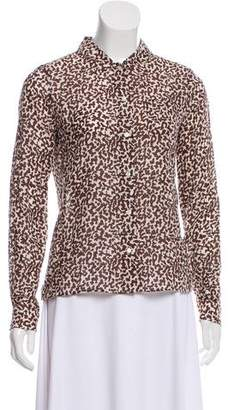Diane von Furstenberg Risi Button-Up Top w/ Tags