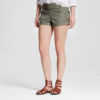 Dollhouse Women's Belted Cargo Shorts - Dollhouse (Juniors') $22.99 thestylecure.com