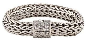 John Hardy Diamond Large Classic Chain Bracelet