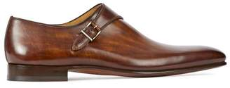 Magnanni Dark Brown Monk
