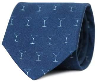 Tom Astin - Shaken Not Stirred Necktie