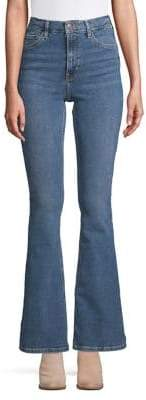 Topshop 34-Inch Leg Flared Jamie Jeans