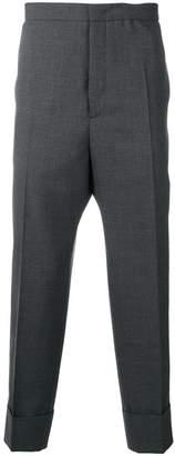 Jil Sander drop-crotch tailored trousers