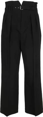 RED Valentino High Waisted Cropped Trousers
