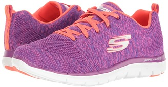 SKECHERS - Flex Appeal 2.0 - High Energy Women's Shoes $70 thestylecure.com