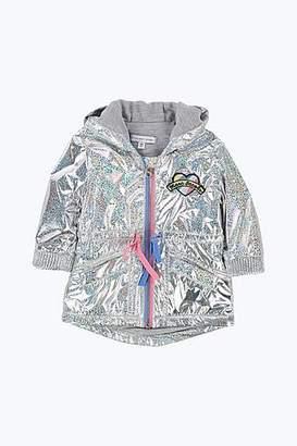 LITTLE MARC Iridescent Raincoat