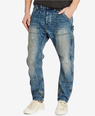 Denim & Supply Ralph Lauren Men's Drop Carpenter Ripped Jeans $185 thestylecure.com