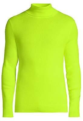 Paul Smith Men's Neon Turtleneck Sweater