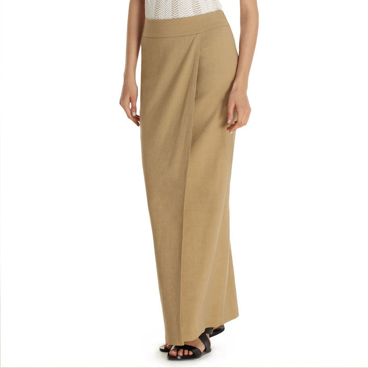 Anne Klein Long Wrap Skirt