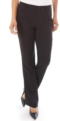 Apt. 9 Women's Magic Waist Tummy Control Pull-On Bootcut Dress Pants