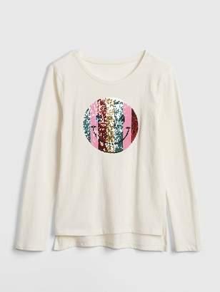 Gap Flippy Sequin Graphic T-Shirt
