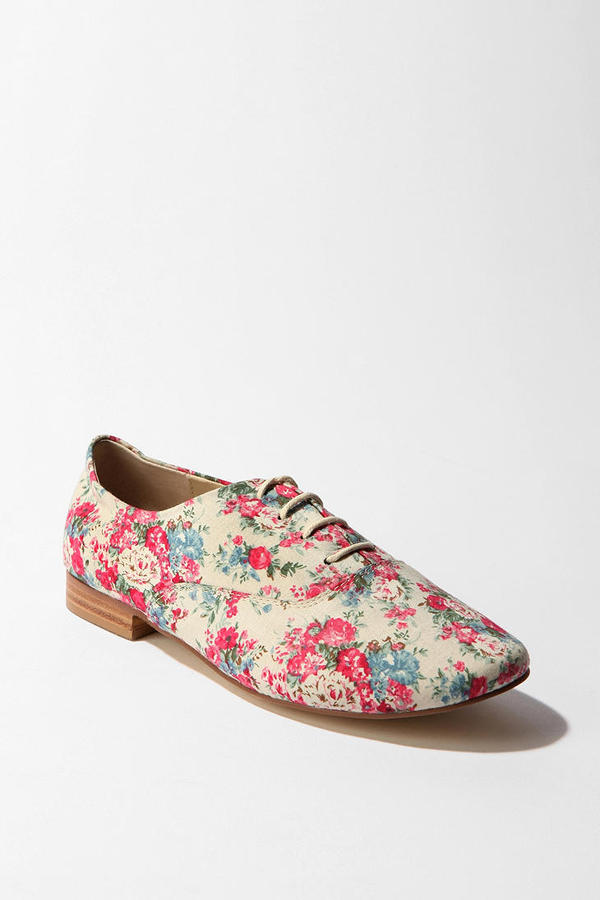 Cooperative Floral Print Oxford