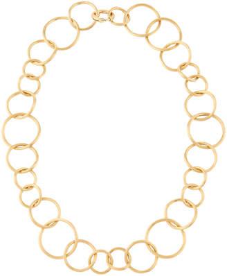 "Marco Bicego 18k Luce Link Necklace, 16""L"