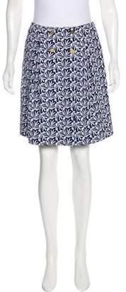 Draper James Knee-Length Floral Skirt