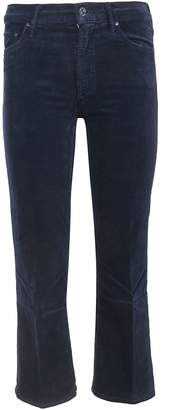 Mother The Outside Crop Honey Jeans