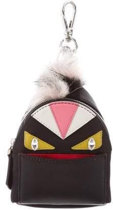Fendi Micro Monster Backpack Charm