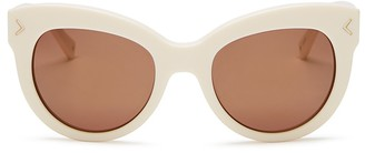 KENDALL and KYLIE Charli Cat Eye Sunglasses, 52mm $145 thestylecure.com