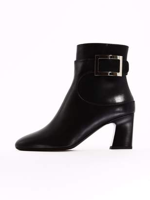 Roger Vivier Ankle Boot Black Leather