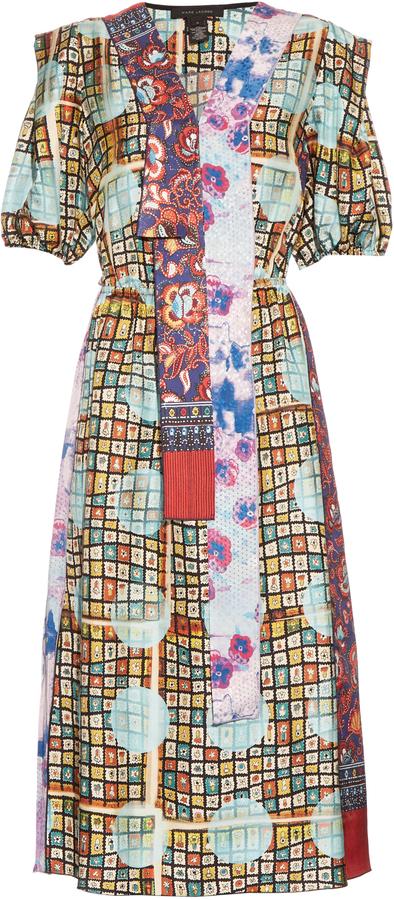 Marc JacobsMARC JACOBS Multicoloured silk dress