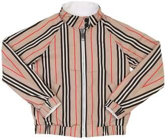 Burberry Reversible Cotton Bomber Jacket