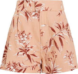 Joie Farron Linen Shorts