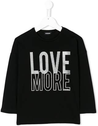 Diesel Love More print top