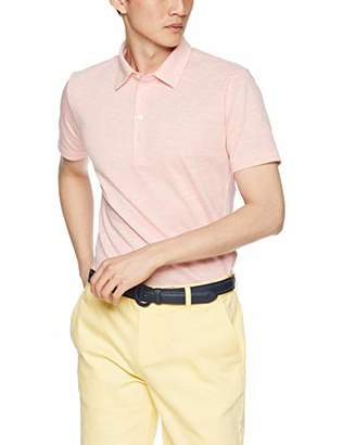 Munsingwear (マンシングウェア) - [マンシングウェア] 半袖シャツ(ニット) MGMNGA04 メンズ OR00(オレンジ) 日本 M (日本サイズM相当)