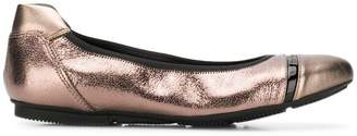 Hogan Wrap ballerina shoes