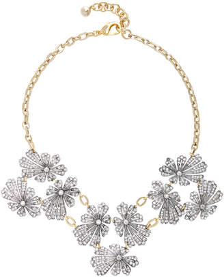 Lulu Frost Camellia Silver and Gold-Plated Brass Necklace