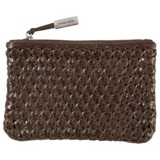 Stephane Kelian Brown Leather Clutch bag