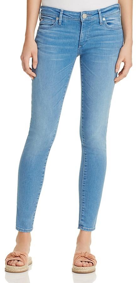 True Religion Casey Super Skinny Jeans in Spring Break