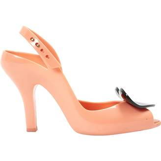 Vivienne Westwood Orange Rubber Heels