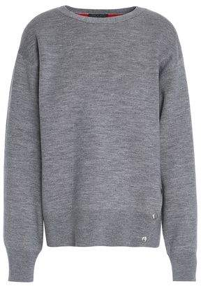 Rag & Bone Saralyn Mélange Merino Wool-Blend Sweater