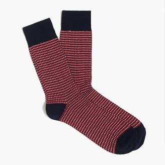 J.Crew Bird's-eye socks